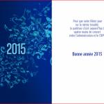 Carte de voeux CNPG 2015